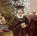 M. Regina Combs Hammett graduation from St. Mary's College of Maryland